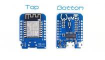 Mikrovaldiklio plokštė WeMos D1 mini V2